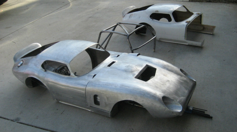 The body in the background was used as a template to create the car ...